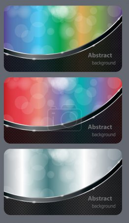 Brochure business card banner abstract background style