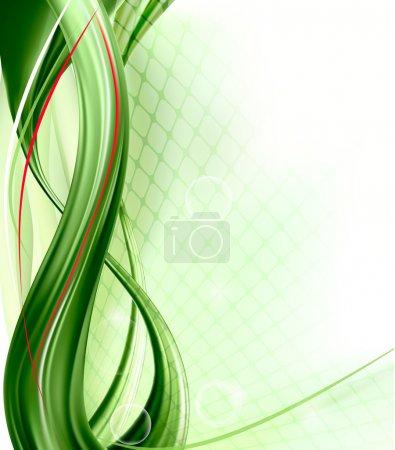 Illustration pour Business élégant fond vert abstrait. Illustration vectorielle - image libre de droit