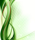 Business elegant abstract green background Vector illustration