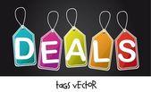 Deals tags