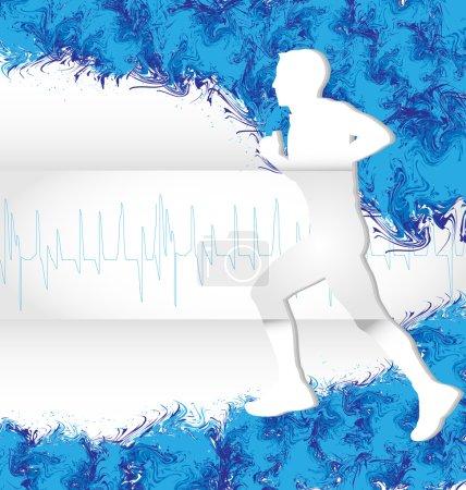 Watercolor Running