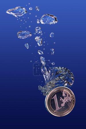 Sinking Euro.