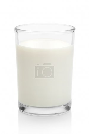 Glass of milk.