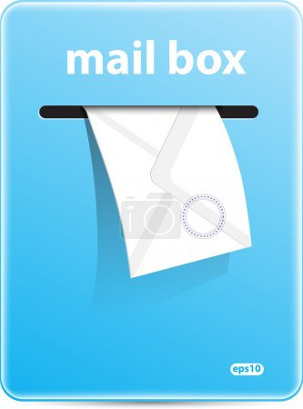 Mail box vector format