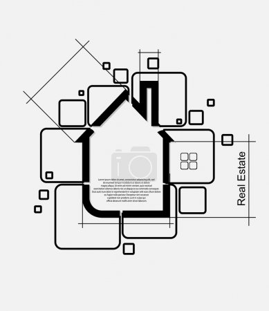 Photo for Real estate circuit vector - Royalty Free Image
