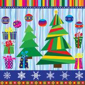 Christmas set (24 elements)