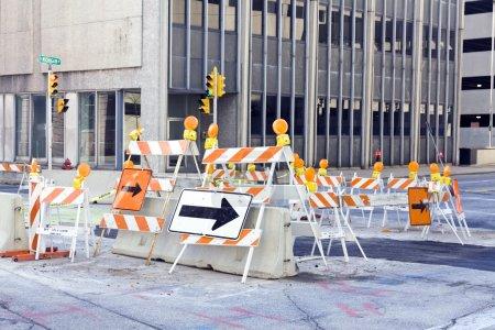 Foto de La construcción de carreteras - Imagen libre de derechos