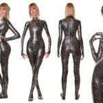 Glamorous Fashion Spandex Shiny Catsuit...