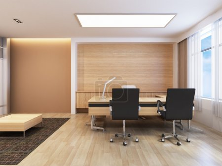 Photo for Office working area with modern decoration - Royalty Free Image