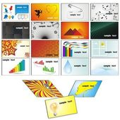 Assorted Business Card Template