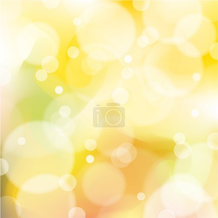 Illustration for Abstract orange and yellow background vector with highlights. - Royalty Free Image