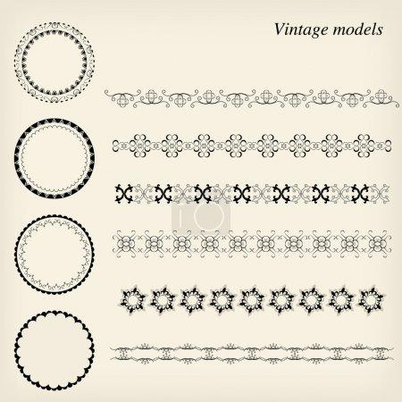 Vintage models