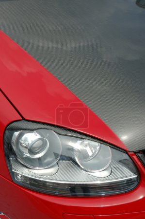 Racing car headlight