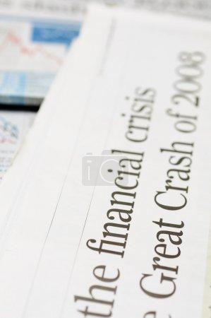 Финансовый кризис заголовки