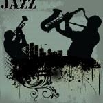 Jazz music background...