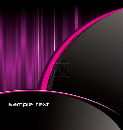 Illustration for Abstract purple background - Royalty Free Image