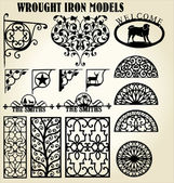 Wrought Iron models