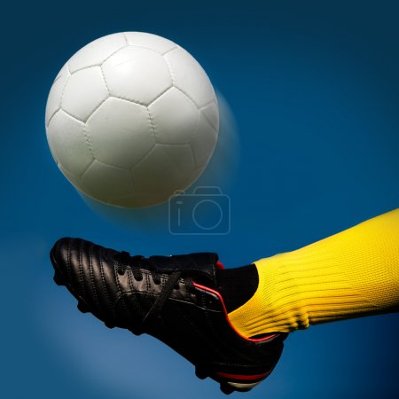 Photo for A soccer player in action - Royalty Free Image