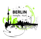 Vector Art skyline of Berlin