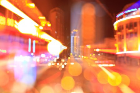 Abstract City Bokeh Nightscape