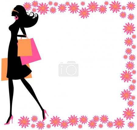 Summer Shopping Girl