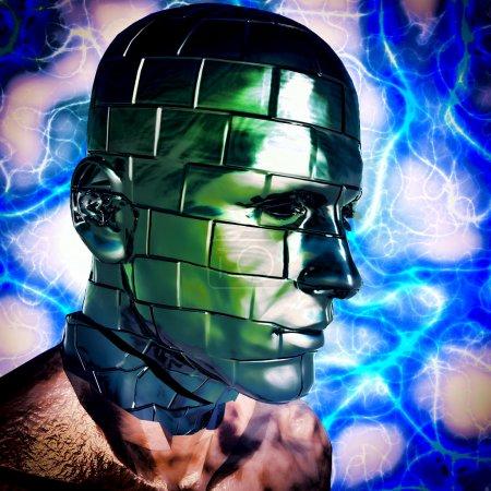 Photo pour Cyborg - image libre de droit