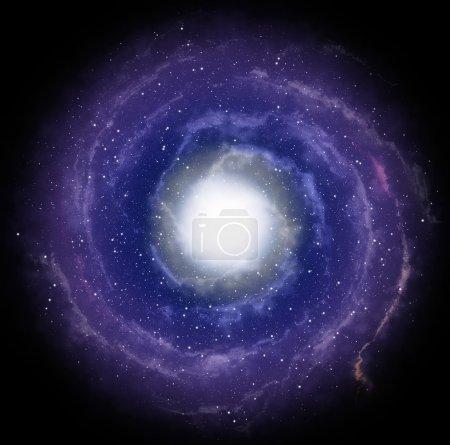 Photo pour Galaxie spirale - image libre de droit