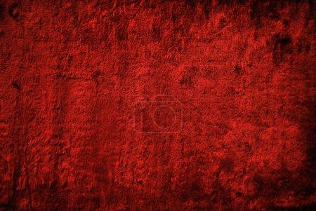 Photo pour Tissu de velours rouge. La texture du velours . - image libre de droit