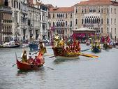 VENICE, ITALY - SEPTEMBER 2011 - Historical Regatta of Venice 4