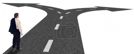Business crossroads - decisions and strategic plan...