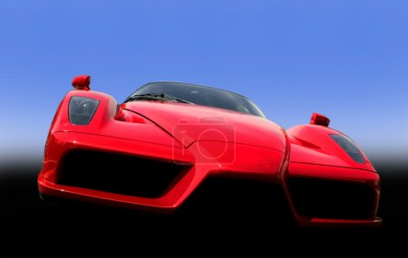 Red Exotic Sports Car