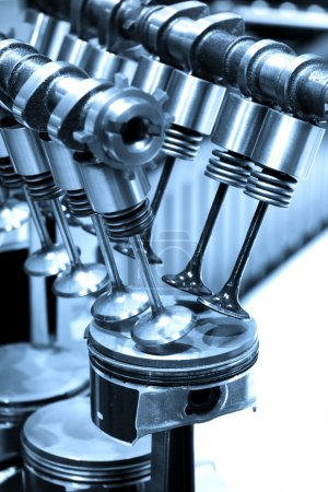 Pistons and valves