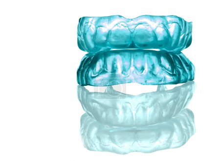 ACRYLIC-SILICON DENTURE- FULL FRONT SET