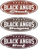 Black Angus Premium Beef Stamps