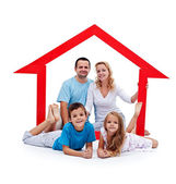 Happy home concept