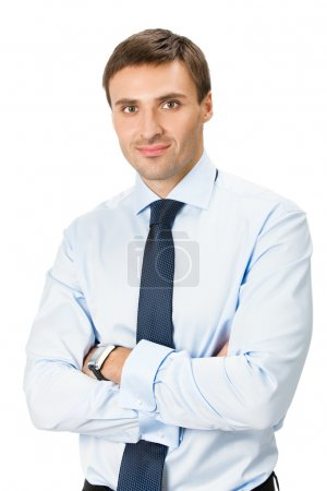Businessman, isolated on white