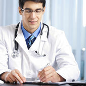 Psaní doktor na úřadu