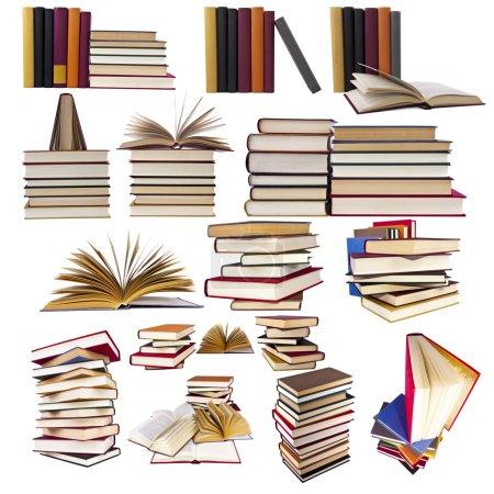 Photo pour Collection et ensemble de livres - image libre de droit