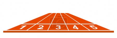 Running track - start position