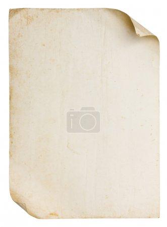 Foto de Textura de papel viejo Vintage - Imagen libre de derechos
