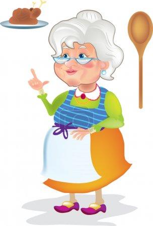 Grandma cooked