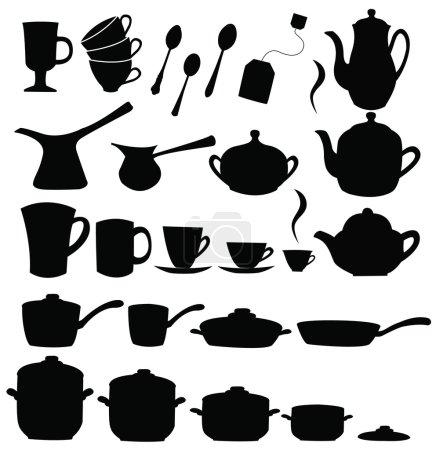 Tea, coffee ans pot sets