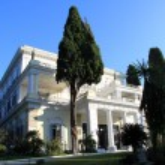 Princess Sissy's villa in Corfu Greece...