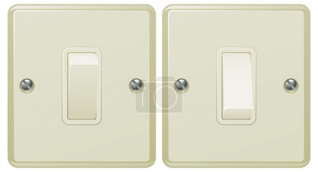 Light switch illustration