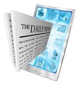 News phone app concept