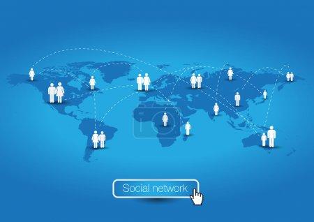 Social network - global community