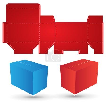 Box diecut lines