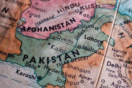 Pakistan Afghanistan map