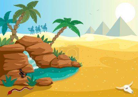 oasis du désert