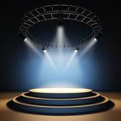 üres színpad